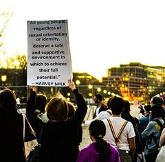 2017.02.24 Dance Protest Celebrating Trans Youth, Washington, DC USA 01168