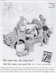 Fiat 500 Ghia Jolly (1961) (andreboeni) Tags: classic car automobile cars automobiles voitures autos automobili classique voiture rétro retro auto oldtimer klassik classica publicity advert advertising advertisement fiat 500 ghia jolly fiat500 cinquecento beachcar 7up microcar voiturette