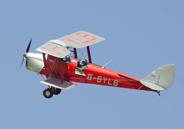 tigermoth biplane dehavilland bylb gbylb