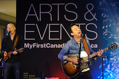 Jimmy Rankin, FCP Toronto, June 2014 (Richard Wintle) Tags: toronto ontario canada downtown guitar financialdistrict singer onstage guitarist songwriter fcp firstcanadianplace jimmyrankin artofsong