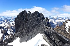Silver Star (nwpuzzlr) Tags: mountain hiking cascades silverstar northcascades 2014hikes