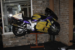 DSCN0116 (Betapix) Tags: west coast paint lift corona motorcycle suzuki rizer eazy hayabusa gsx1300r akrapovic