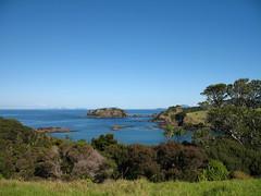 082 - Vue depuis la route de la lighthouse de Tutukaka