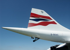 Concorde tail (Proplinerman) Tags: aircraft tail concorde britishairways airliner bac supersonic jetliner boac aerospatiale gboac