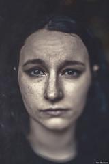 Sarah Loreth (Nate Buchman) Tags: portrait distortion blur texture sarah focus skin bokeh headshot desaturate complexion freelense freelensing loreth sarahloreth