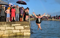 AIB Photojournalism 2014 (AIB Bank) Tags: swimmers fancydress newyearsday carnloughharbour newyearsdayswimmers theaibphotojournalismawards