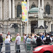 Waiting At City Hall - Queen Elizabeth and Prince Philip visited Belfast on June 24th.