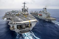 140607-N-IP531-278 (U.S. Pacific Fleet) Tags: gw carrier rok republicofkorea ussgeorgewashingtoncvn73 cvn73 ussgeorgewashington watersnearokinawajapan