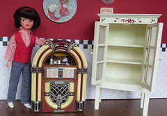 (1) Today's Thrift Store Finds (Foxy Belle) Tags: vintage store doll market furniture diner thrift accessories flea diorama