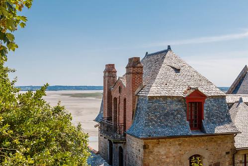 Vue sur la baie du Mont Saint-Michel