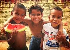 Children´s Joy (joaobambu) Tags: 2005 brazil portrait people smile topv111 brasil topv2222 kids children interestingness interesting topv555 topv333 faces emotion expression retrato topv1111 joy topv999 poor happiness forsakenpeople kinder unesco watermelon melancia story together blogged topv777 alegria fav forsaken crianças topv3333 topf15 echaporã echapora poca developing echaporaense 2008rfas childrenbestphotos
