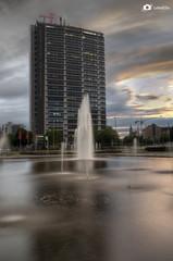 Ernst-Reuter-Platz (labelello_foto) Tags: longexposure sunset berlin nikon filter hdr ernstreuterplatz langzeitbelichtung ndfilter langzeit d7000