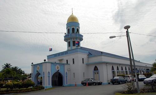 Image result for masjid jamek bandar pontian