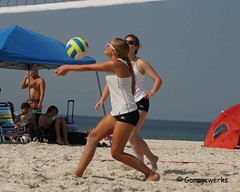 Gulf Shores Beach Volleyball Tournament (Garagewerks) Tags: woman beach girl sport female court sand all child gulf sony sigma tournament volleyball shores 50500mm views50 views100 views200 views300 views250 views150 f4563 slta77v