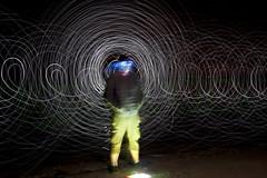 Lake Huron (scienceduck) Tags: light ontario canada lightpainting july wideangle s led huron lakehuron 2014 ipperwash scienceduck 5c4r7