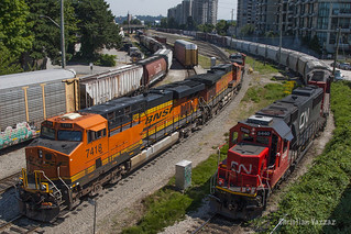 BNSF and CN