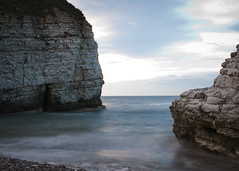 Thornwick Bay (Matthew-King) Tags: sea water bay coast long exposure waves head yorkshire east thornwick flamborough coastuk