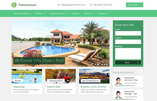 Thailand Resort Hua Hin Homepage