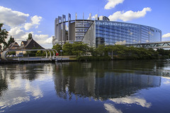 European Parliament - Riflessioni (Alessandra Giansante) Tags: reflection european parliament strassburg strasburgo riflessioni