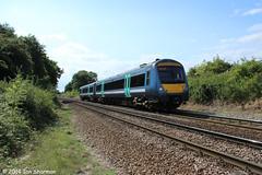 170270 6th Aug 2014 Westerfield (Ian Sharman 1963) Tags: diesel class multiple greater passenger aug ipswich 170 6th unit lowestoft 2014 dmu westerfield anglian abellio 170270