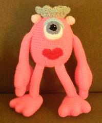 Betty Lewis (The Crochet Crowd®) Tags: mike mikey cal redheart crochetalong staceytrock freecrochetpattern thecrochetcrowd michaelsellick mysterycrochetchallenge whosinyourcloset monstersinccrochetpattern monstersuniversitycrochetpattern