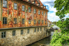 Wall painting-Bamberg-Germany (toco112) Tags: street old city beautiful canon germany deutschland eos nice alt streetphoto hdr highdynamicrange nationalgeographic schn tonemapped strase photomatixpro tonemapping hdrphotography hdrfoto hdrphotographer hdrpro hdrbilder thebestofhdr
