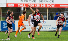 """IMG_8582 (Go to """"Albums"""" for all pics) Tags: club football collingwood dolphins pies magpies frankston vfl"""