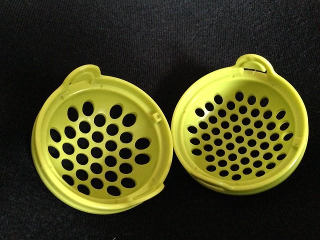 有兩種尺寸的篩孔@Nuby 鮮果園系列副食品工具