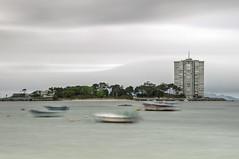 Toralla (A.González) Tags: sea españa seascape landscape island mar spain barca barco ship paisaje isla pontevedra vigo toralla embarcacion