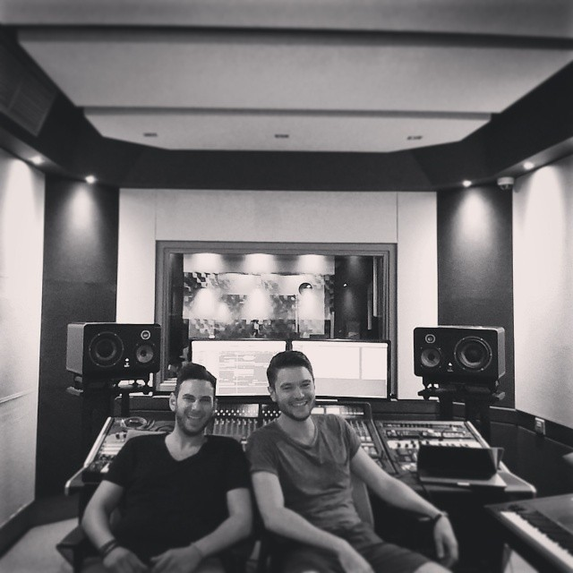 Had major fun in the studio with my bro Dino Romeo, greek vibe!
