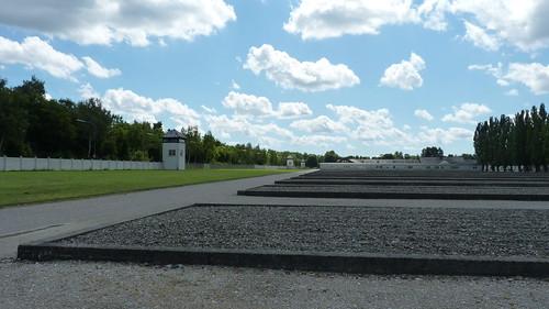 Dachau -  view from Polish Catholic memorial