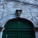 "Doorway in Korčula Old Town <a style=""margin-left:10px; font-size:0.8em;"" href=""http://www.flickr.com/photos/14315427@N00/14830346964/"" target=""_blank"">@flickr</a>"