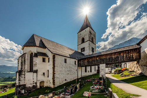 Church of Saint George in Pürgg / Austria