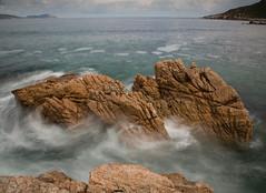 Rocas detalle (joseemiliogomez431) Tags: mar rocas largaexposicion esteiro marialucense rocasmarinas playadeesteiro