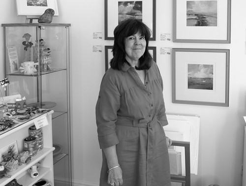 "Inside Margate Gallery With the owner • <a style=""font-size:0.8em;"" href=""http://www.flickr.com/photos/41894159895@N01/14865697159/"" target=""_blank"">View on Flickr</a>"