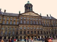 Het paleis op de dam (joycekoops46) Tags: amsterdam square dam plein