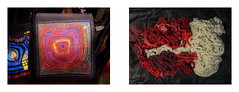 """27.8.2014: Hundertwasser """"The straight line is godless and immoral"""" """"Die gerade Linie ist gottlos und unmoralisch"""" / Dyeing Wool Baumwolle frben for Weaving """"Phantom Pain of the Felled tree"""" """"nach dem Frhlingsmassaker beim Narrenturm"""" (hedbavny) Tags: vienna red white black color tree rot art wool museum circle bag studio rouge austria sketch pain kunst linie diary natur magenta tint sketchbook line cotton weaver dyeing farbe weave tagebuch baum schwarz weber tapestry hundertwasser atelier kreis hundertwasserhaus tasche procrustes baumwolle wolle narrenturm werkstatt tapisserie purpur weis purble skizze dunkelbunt gefllt arbeitsraum kunsthauswien stowasser friedensreichhundertwasser weben museumsshop skizzenbuch redrosso frben naturfarben phantomschmerz hundertwassermuseum prokrustesbett prokrustes museumhundertwasser teppichweber fantomschmerz"""
