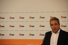 Pedro Pinto em Conferência de Imprensa
