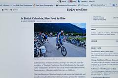 Newspaper (dbsteers) Tags: york times pemberton britishcolumbiasummer 2014new