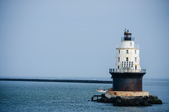 find their own way (outrédurf) Tags: travel vacation usa lighthouse ferry jersey capemay jerseyshore capemayferry