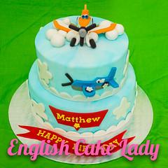 Planes (English Cake Lady) Tags: matthew cupcake birthdaycake pixar planes