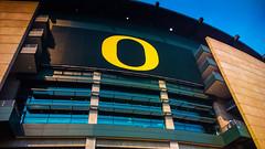 Autzen Stadium, Eugene, Oregon (Paddy O) Tags: fall oregon football eugene michiganstate oregonducks 2014 autzenstadium pac12 oregonducksfootballgame