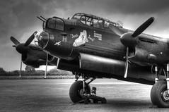 """Just Jane"" (Richard Amor Allan) Tags: plane vintage aircraft military air lancaster ww2 bomber base raf wartime justjane lancasterbomber eastkirkby nx611 rafeastkirkby"