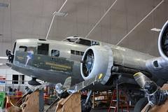 The Memphis Belle (Tugnutt) Tags: airplane aircraft b17 restoration usaf memphisbelle