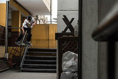 Josemaria Quispe - Boardslide (SergioIzCh) Tags: peru 50mm nikon skateboarding lima spot skatepark skate f2 sk8 skateboardingphotography skatelife skatefun
