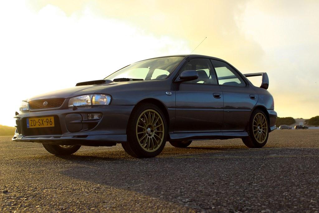 99 Subaru Impreza GT Turbo Stars25 SpookPictures Tags Blue