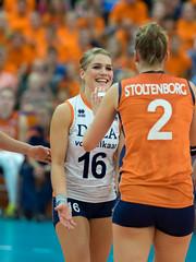 P9060172a (roel.ubels) Tags: sport deutschland nederland trophy volleyball leek dela volleybal oranje duitsland 2014
