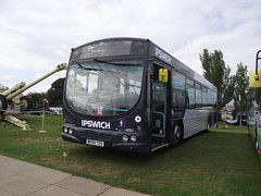 WX55TZU (First Eastern Counties 66957) 21-09-2014 Duxford Showbus.4 (routemaster2217) Tags: transport duxford imperialwarmuseum iwm showbus2014