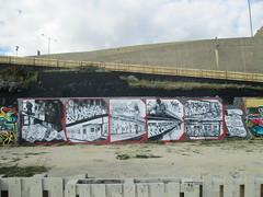 'ROBBO' by CHUM 101 (Brighton Rocks) Tags: graffiti brighton rip 101 tribute chum blackrock robbo