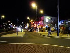 Marine Parade (LookaroundAnne) Tags: seaside norfolk yarmouth seafront greatyarmouth atnight afterdark pathscaminhos peopleandpaths